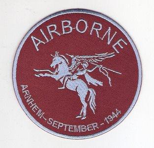Airborne pegasus embleem rond