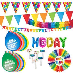 Verjaardag algemeen feestpakket