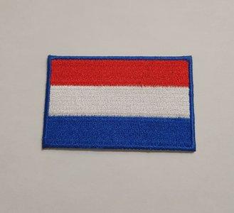 Nederlandse vlag patch 7,5 cm