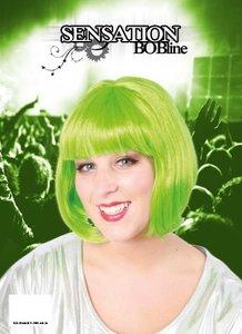 Sensation Bobline, page pruik kort model groen