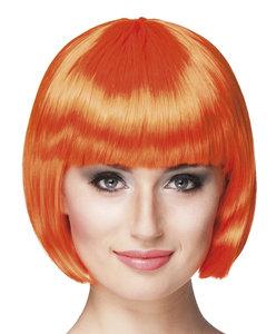 Cabaret bobline pruik orange