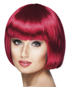 Cabaret bobline pruik ruby