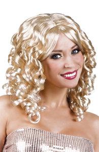 Dames pruik cocktail blond