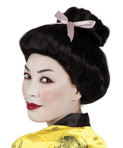Pruik Geisha met knot