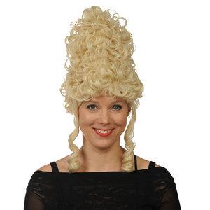 Marchioness, Suikerspin/Hofdame met pijpenkrullen blond OP=OP