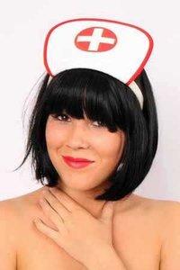 Diadeem Verpleegster wit