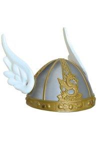 Asterix, helm grijs met vleugels