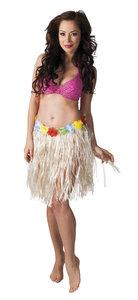 Hawaii rokje naturel vrouw