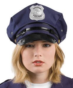 Politie pet blauw
