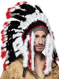 Indianen tooi groot luxe