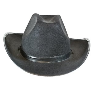 Cowboy populair zwart