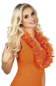 Hawaiikrans oranje