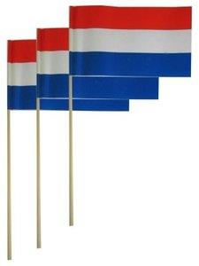 Handvlag Nederland papier 20 x 26 cm 50 stuks