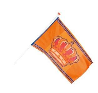 Koningsdagvlag 90 x 150 cm binnen gebruik