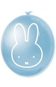 Ballonnen Nijntje blauw jongen 6 stuks