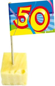 Cocktailprikkers opdruk '50'