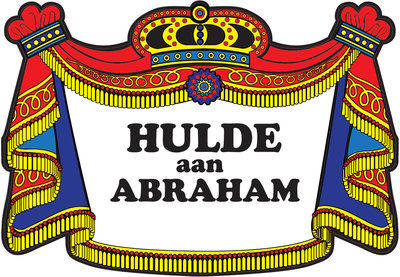 Huldeschild Abraham traditioneel OP=OP