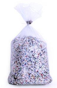 Confetti gekleurd 5 kg in doos