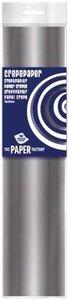 Crepe papier zilver 250 x 50 cm