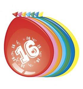 Ballonnen 16 jaar