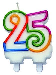 kaars 25 jaar