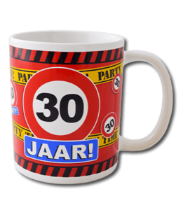Mok leeftijd verkeersbord 30