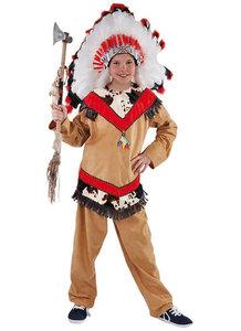 Indianen jongen 2 delig : blouse met broek
