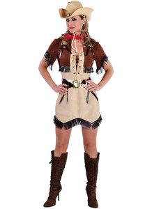 Dames cowgirl jurk met bolero