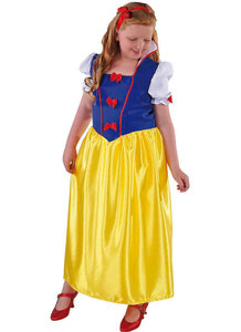 Magic Sneeuwprinses luxe jurk met opstaande kraag