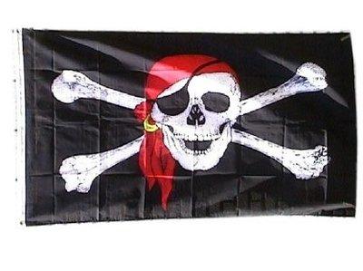 Piratenvlag 90 x 150 cm