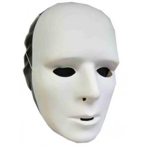 wit masker volledig