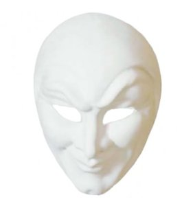 Venetiaans masker Joker Grezzo