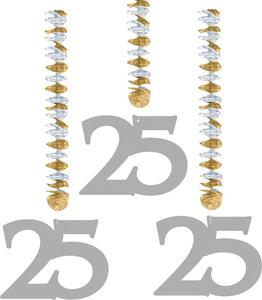 3 rotorspiralen zilver '25'