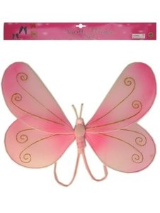 Vlindervleugels roze