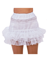 Petticoat organza wit
