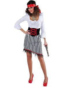 Piraat dame kostuum