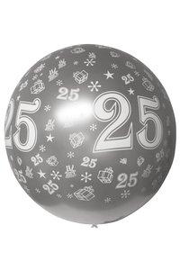 Mega ballon 25 jaar