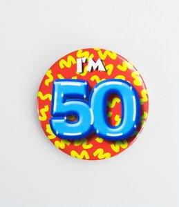Button I'm 50