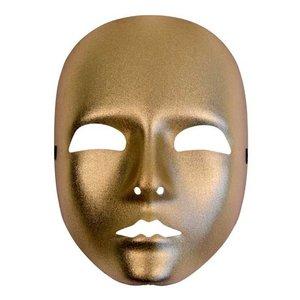 Gezichtsmasker dames goud