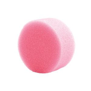 Superstar Grimeersponsje rond roze