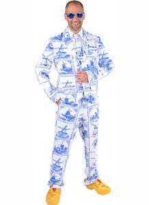 Delfts blauw pak