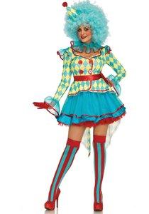 Carnavalskleding Dames Clown.Leg Avenue Clown Carnaval Luxe Feestartikelenshop Com Uw