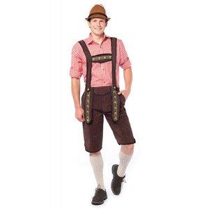 Oktoberfest heren pakket: broek, blouse en kousen