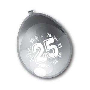 Ballonnen 25 jaar zilver