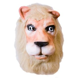 Rubber masker Leeuw