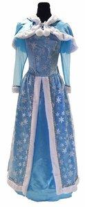Sneeuwkoningin kostuum