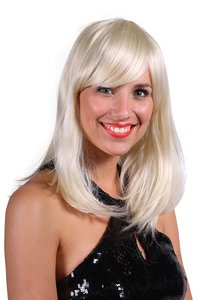 Pruik blond Selina