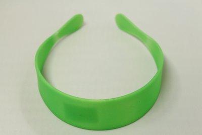Groene haarband