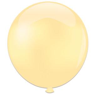 Mega ballon ivoor
