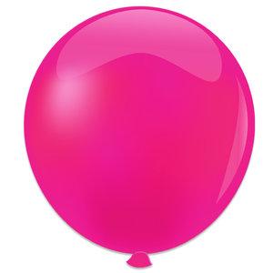Mega ballon fuchsia